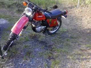 1982 Suzuki Sp 125 Dirt Bike - Road Legal W / Title - Runs And Drives Great photo