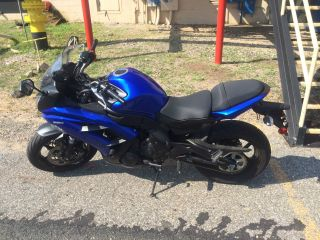 2013 Blue Kawasaki Ninja photo