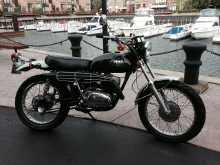 1971 Yamaha Rt1 B 360 Enduro Serviced Running 5,  337 Mile photo