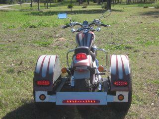 Honda Shadow 1989 600cc 5 Speed & Includes Richland Roadster Trike Kit photo