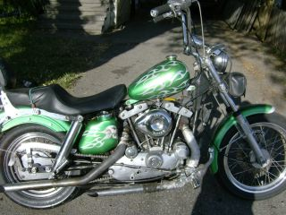 1977 Harley Davidson Sportster photo