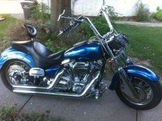Customized 1999 Yamaha Roadstar 1600cc V - Twin photo