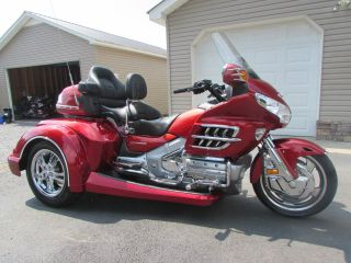 2008 Honda Goldwing Gl1800 Roadsmith Trike With Running Boards photo