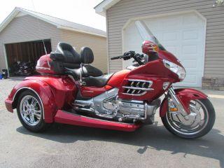 2008 Honda Goldwing Gl1800 Roadsmith Trike With Running Boards photo