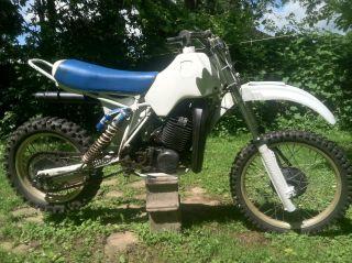 1984 Husqvarna 500 Xc Dirtbike Vintage Husky 500cc Two Stroke Barn Find photo