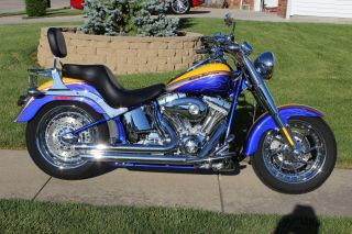 2006 Harley Davidson Screaming Eagle Cvo Fatboy photo