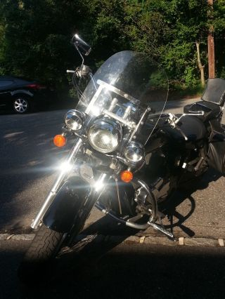 2001 Honda Shadow Ace Deluxe 750cc Many Extras photo