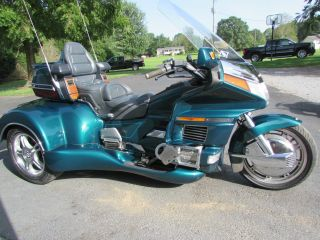 1996 Honda Goldwing Gl1500 Roadsmith Trike With Running Boards photo