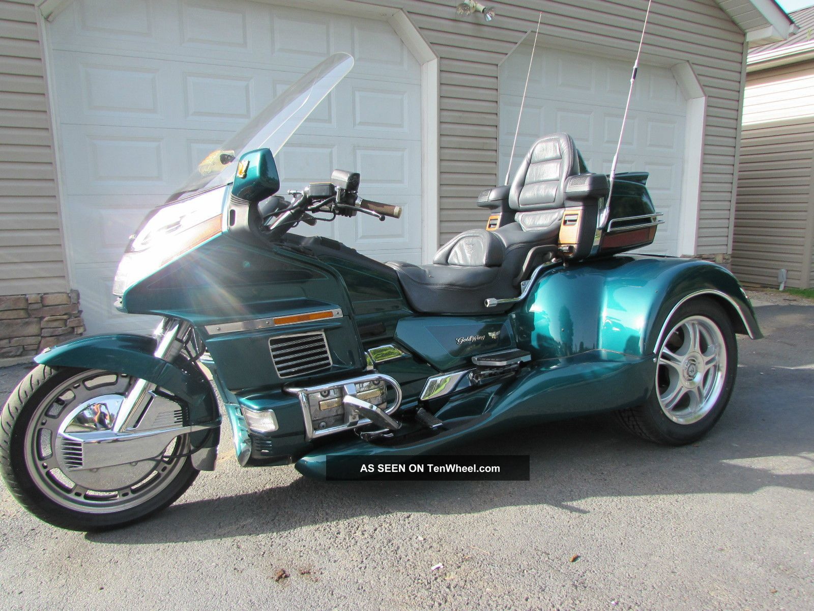Pin 1996 honda goldwing trike gl1500 california side car amp 1993