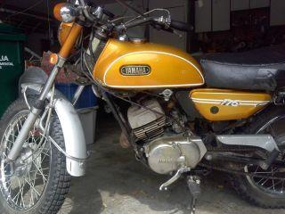 1971 Yamaha 175 Ct1 Enduro photo