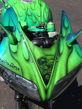 2002 Yamaha Yzf - R1,  Customized,  Pick - Up Only No photo