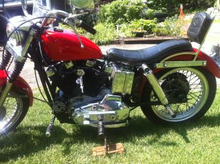 1972 Harley Xlh Ironhead Sportster - Great For A Restoration photo