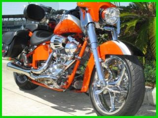 2010 Harley - Davidson® Softail® Cvo Convertible Flstse photo