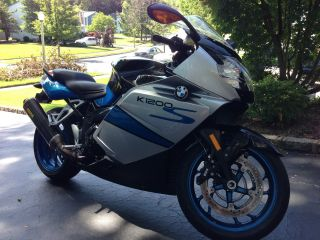 2008 Bmw K1200s Tri - Color W / Abs photo