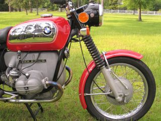 1972 Bmw R75 / 5 Toaster Tank photo