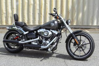 2014 Harley - Davidson Fxsb Breakout Hardy Candy Chrome Flake Financing Available photo