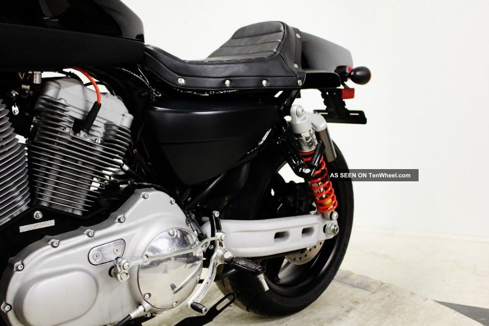 2010 Xr1200 Xr Sportster Cafe  U0026 39  Racer Fuel Injected 1200cc