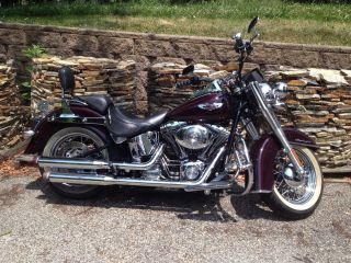 2006 Harley Davidson Flstni Softail Deluxe photo