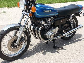 1977 Suzuki Gs750 photo