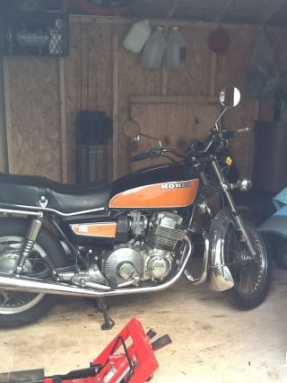 1977 Cb750a Honda Hondamatic 750cc Motorcycle Vintage Classic photo