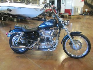 2001 Harley Davidson Sportster Xl1200 Custom Harley Trade In photo
