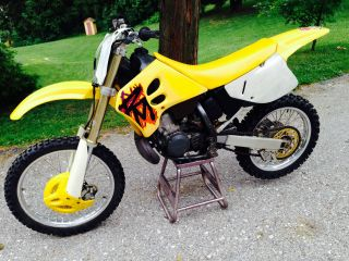 1995 Suzuki Rm250 Excellent Condition photo