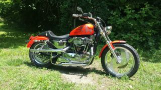 1995 Harley Davidson Sportster Xlh 1200 Many Custom Upgrades photo