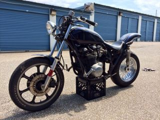 1973 Kawasaki Z1900 Z1 900 Drag Race Motorcycle Kz Muscle Bike Z Vintage Z1f Z1e photo