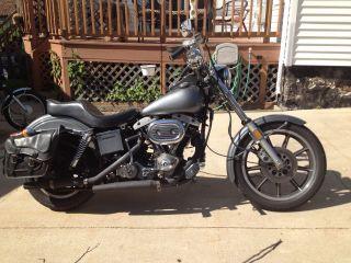 1978 Harley Davidson Low Rider photo