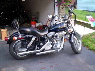 Harley Davidson Dyna Glide,  1997,  Real Bike, ,  Take A Look photo