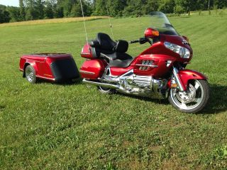 2008 Honda Goldwing & Trailer photo