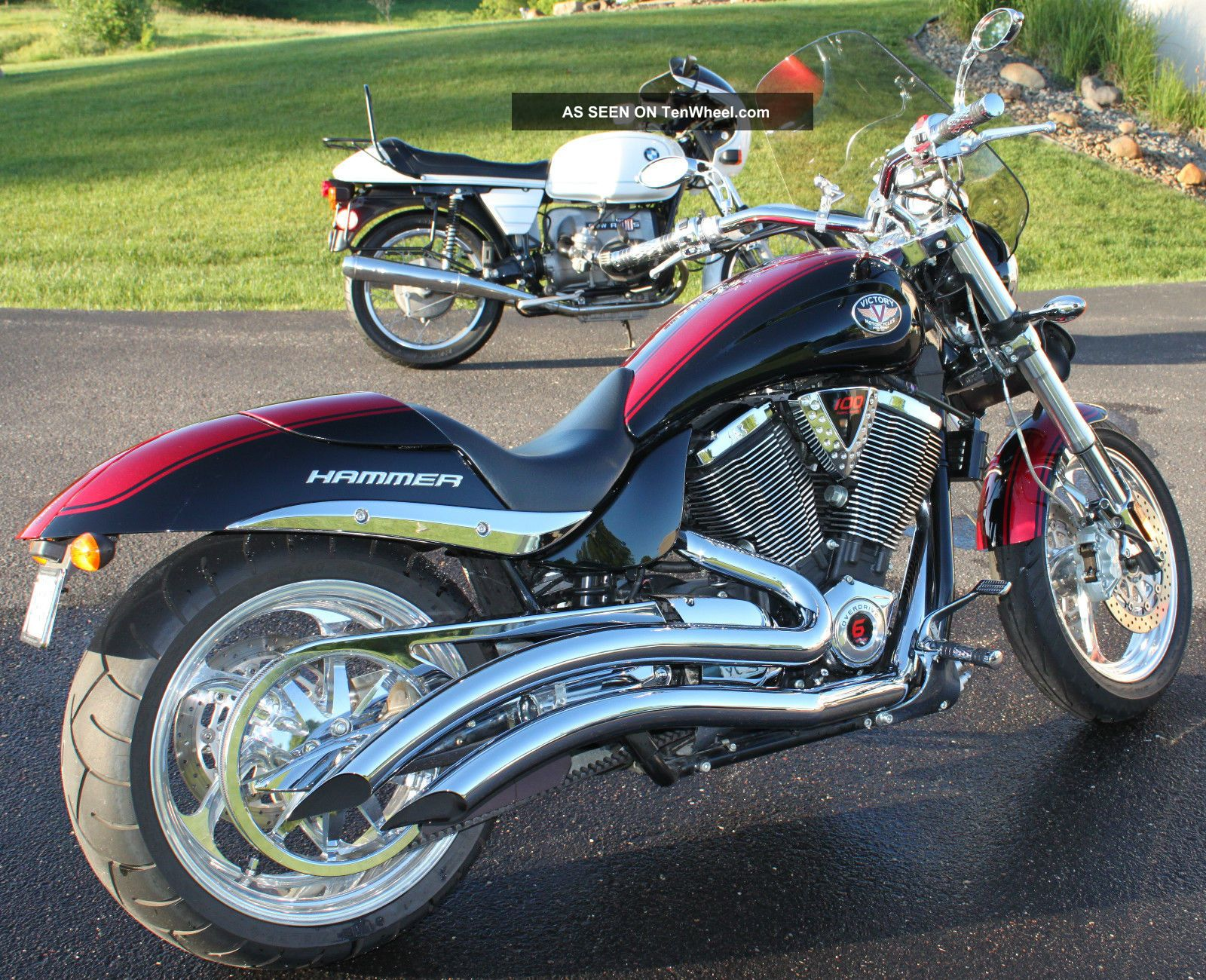 2006 victory hammer s motorcycle prototype for Victory motors big bob
