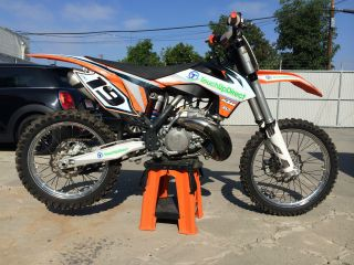 2013 Ktm 250 Sx Two - Stroke photo