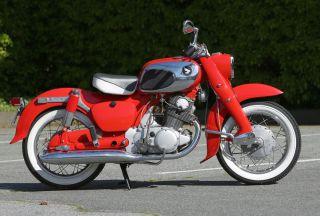 1965 Honda Dream 305 Ca77 - Beautifully Intact photo