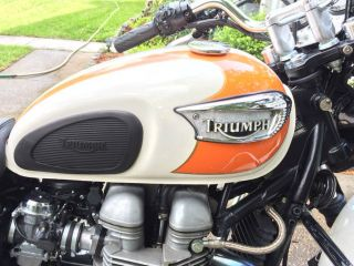 Triumph Bonneville T100,  2007 photo