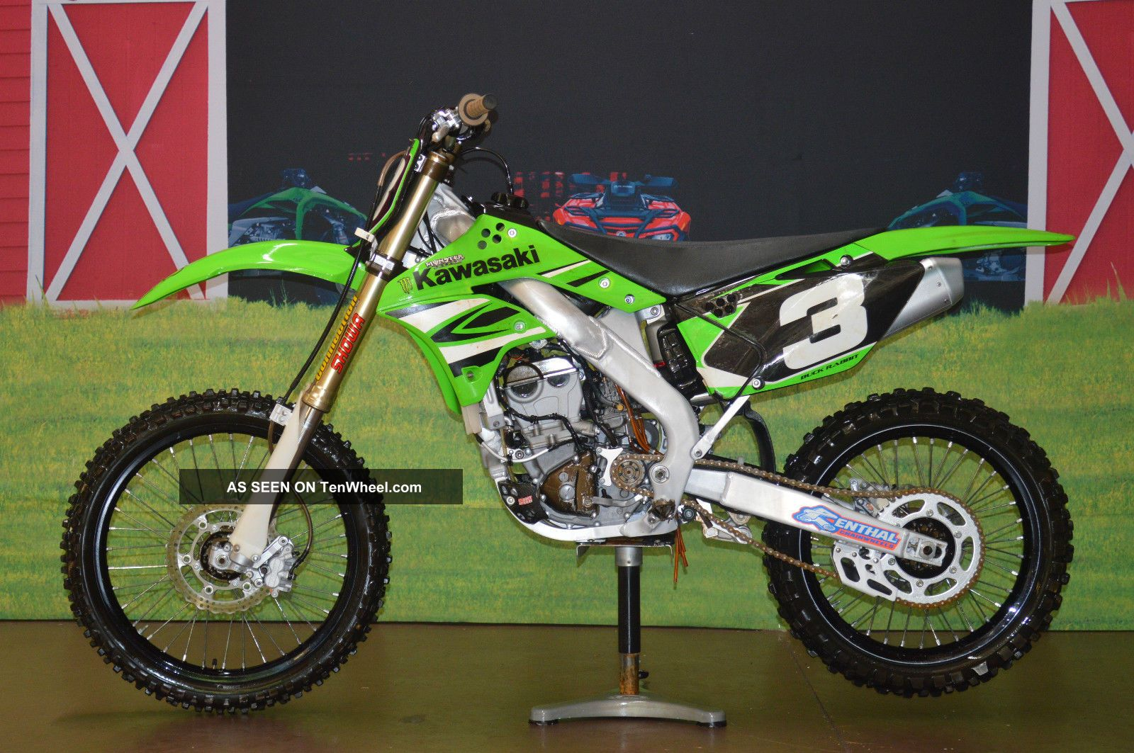 Low Buy It Now 2008 Kawasaki Kx 250 F,  Renthal,  Light Speed,  Four Stroke KXF photo