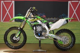 Low Buy It Now 2012 Kawasaki Kx450f,  Fuel Injected,  Title Renthal,  Pro Taper photo