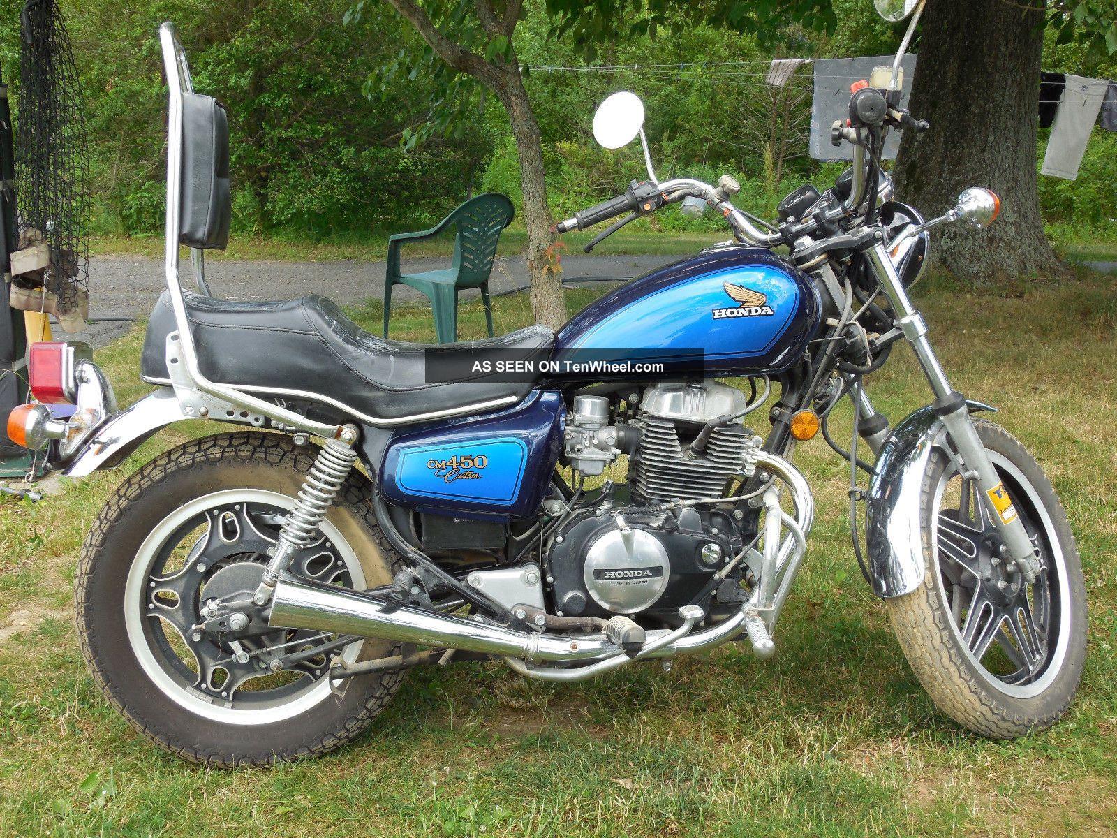 honda 1982 motorcycle cm450 custom motorcycles