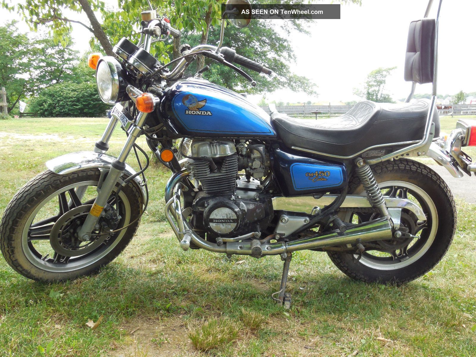 honda custom motorcycle 1982 cm450 motorcycles enlarge