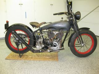 1927 Harley Davidson J Model - Runner photo