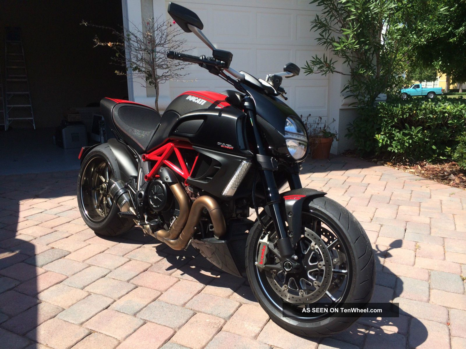 2011 Ducati Carbon Diavel Abs Traction Control Aftermarket ...