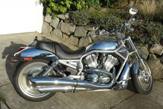 2004 Harley - Davidson V - Rod,  Limited Edition Chrome Color Offered In 2004. photo
