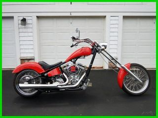 2012 Custom Built Motorcycles Orange County Chopper Chopper photo