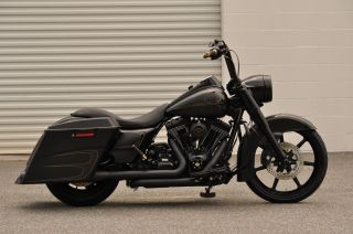 2013 Road King Custom 1 Of A Kind $15k In Xtra ' S Black Ops Edition photo