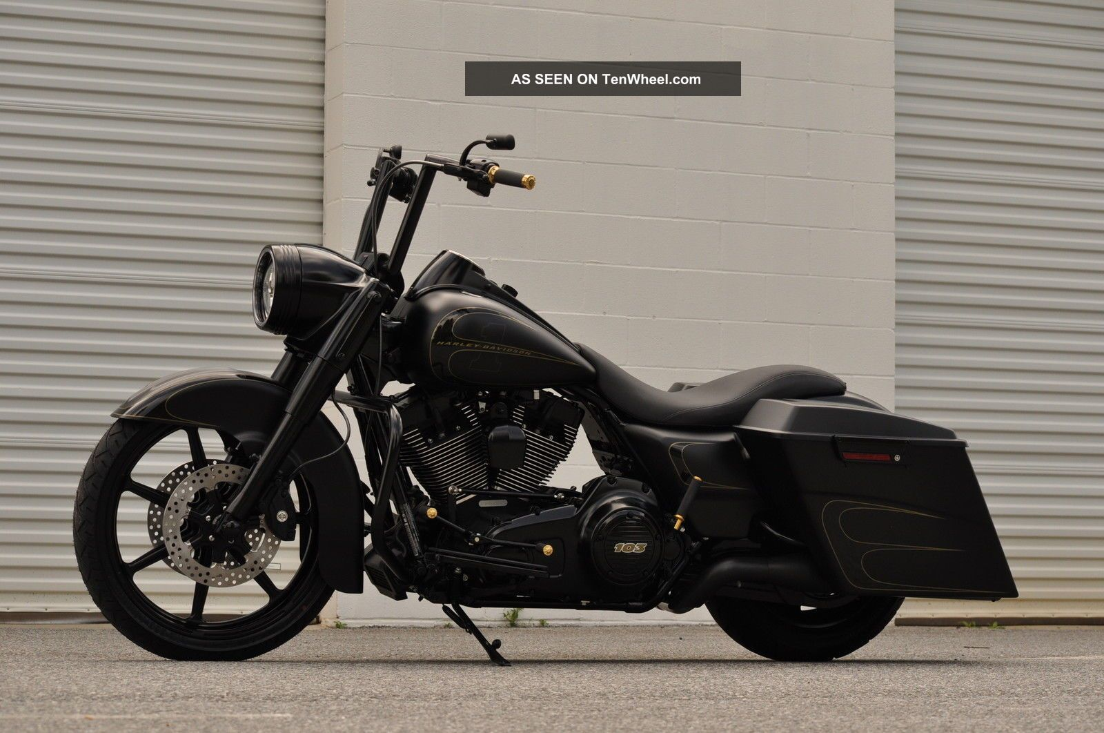 2013 Road King Custom 1 Of A Kind 15k In Xtra S Black