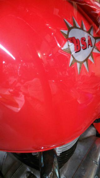 1966 Bsa Hornet Spitfire photo