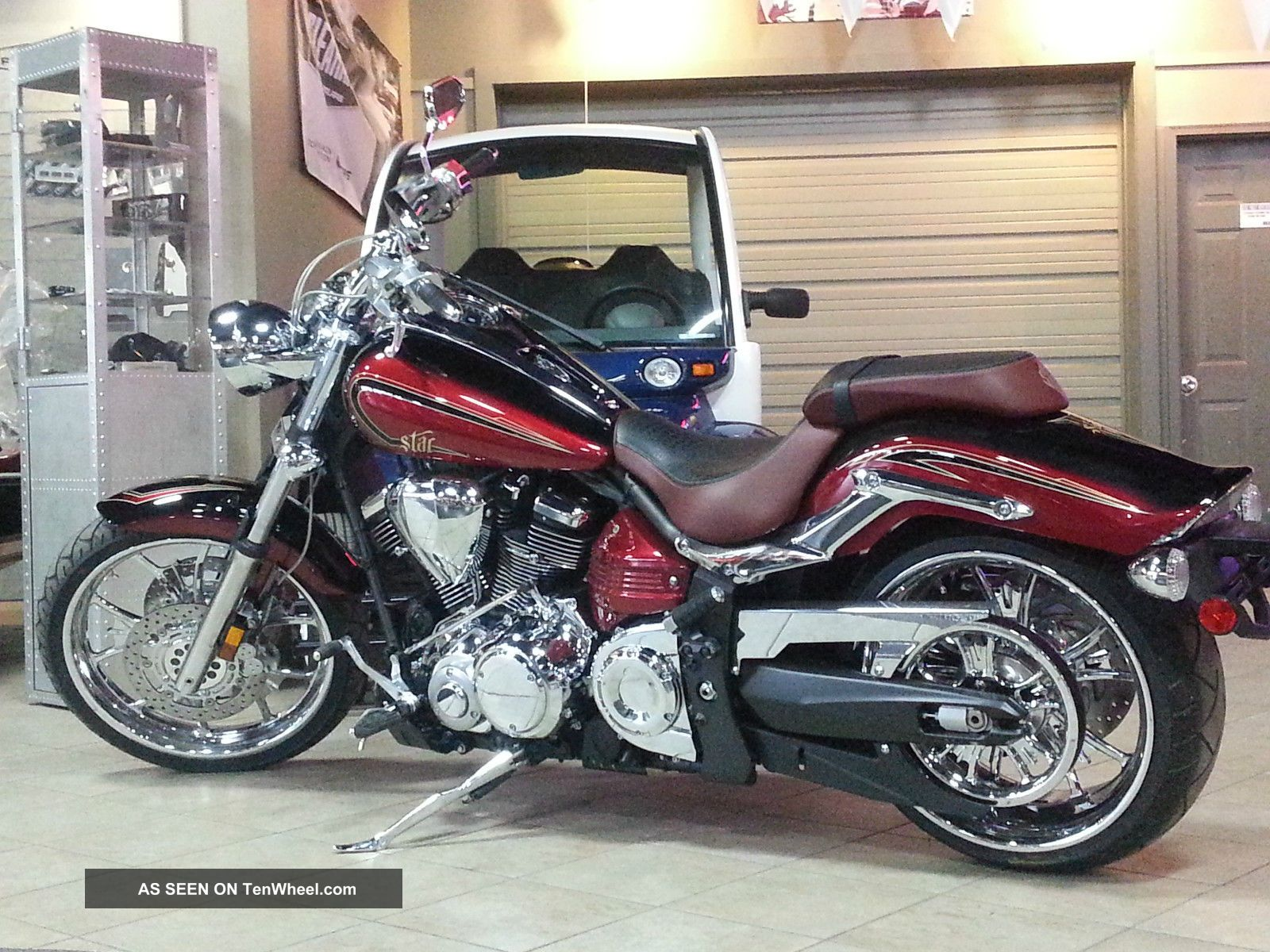 2013 Yamaha Raider Scl 113 Ci Chrome Wheels $5k Off Raider photo
