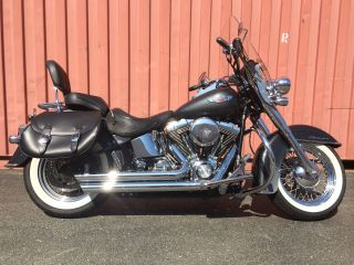 2005 Harley Davidson Flstni Softail Deluxe photo