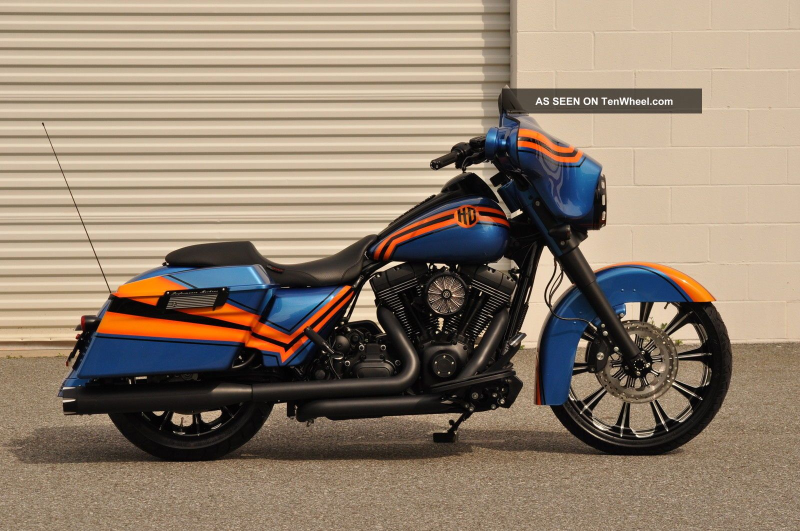 2013 Street Glide Custom A.  B.  S.  1 Of A Kind $15k In Xtra ' S Pm Wheels Touring photo