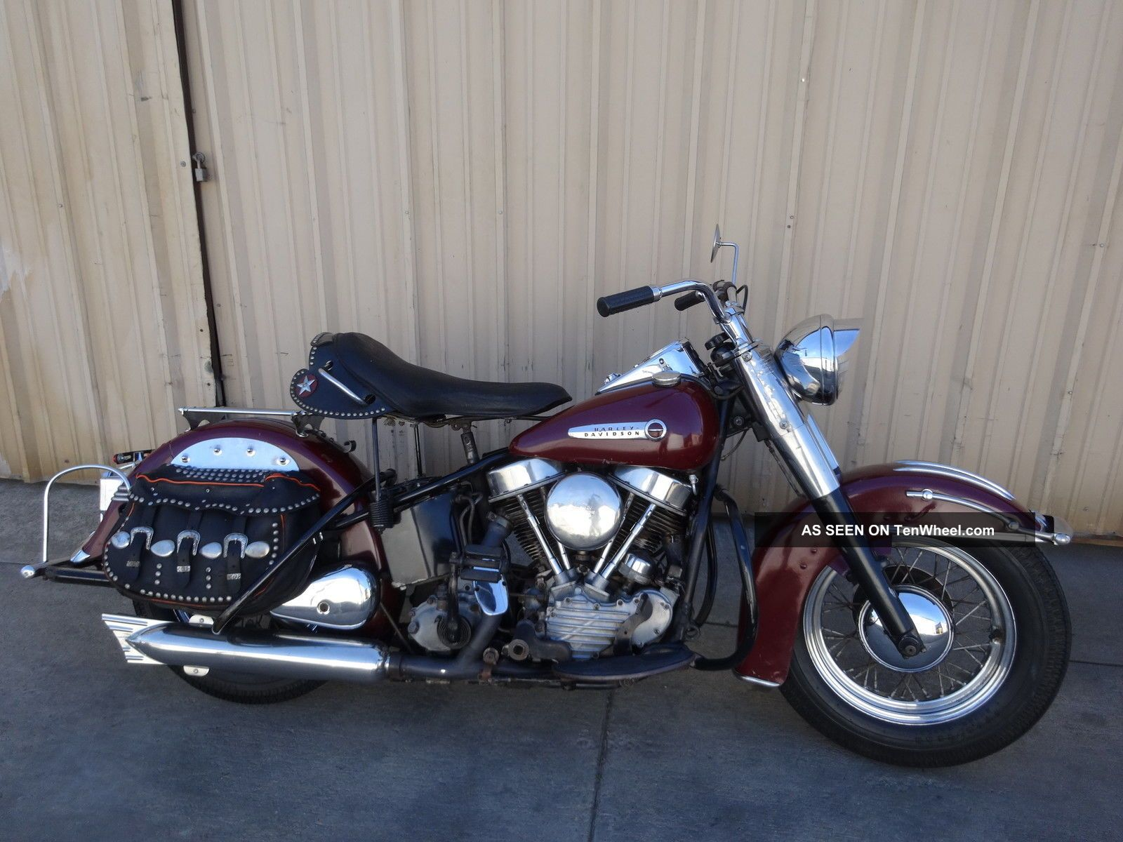 1949 Harley Panhead Hydraglide Paint Other photo
